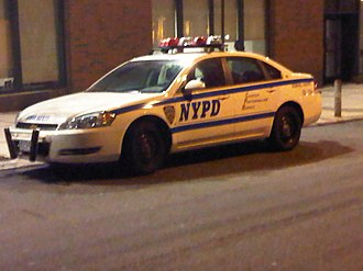 New York City Police Department School Safety Division - A NYPD School Safety vehicle in current white livery.