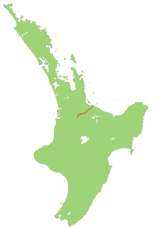 New Zealand State Highway 29 road in New Zealand