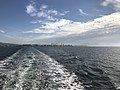 Nagasu Port and Mount Kimbozan from Ariake Ferry.jpg