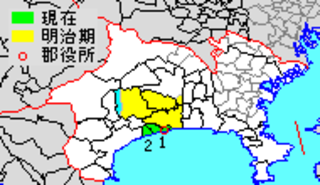 Naka District, Kanagawa administrative district of Japan located in Kanagawa Prefecture