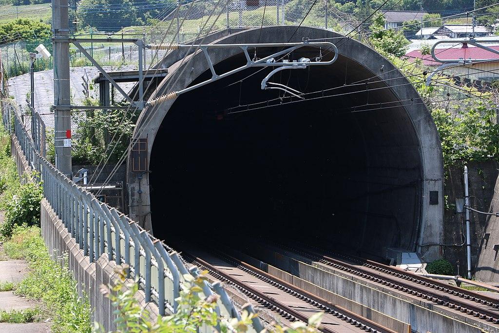 Nakayama tunnel north entrance of the Joetsu Shinkansen A