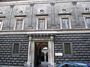 Palazzo Orsini di Gravina - Detail of Entrance