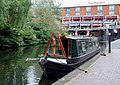Narrowboat moored near Gas Street Basin, Birmingham - geograph.org.uk - 1733942.jpg