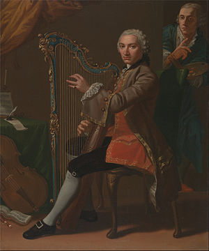 Cristiano Giuseppe Lidarti - Cristiano Giuseppe Lidarti and Giovanni Battista Tempesti by Nathaniel Dance-Holland, 1759–60