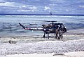 Naval helicopter touches down on scrap of rock (37376499130).jpg