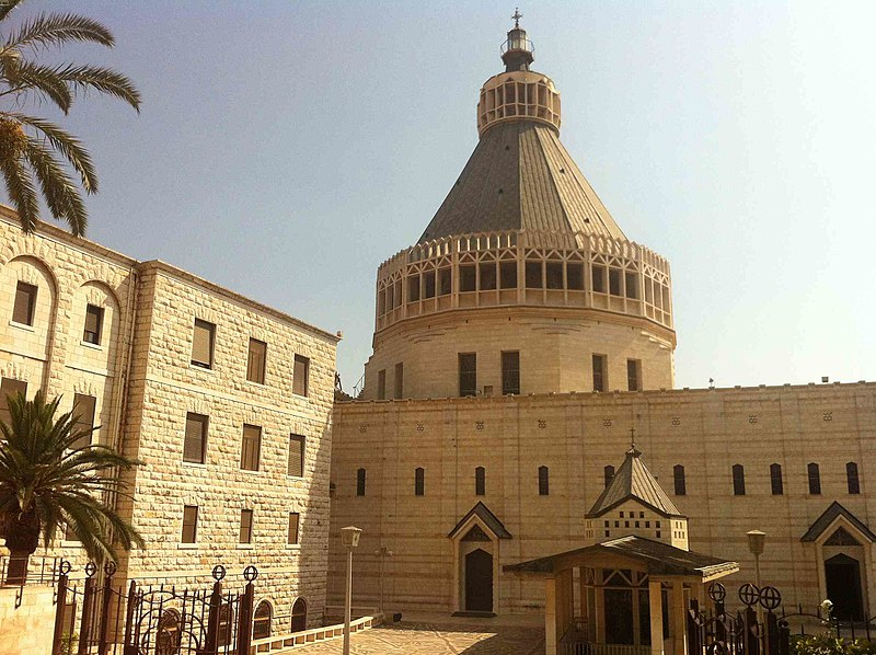 Nazareth Verkündigungbasilika Church of Annunciation (34257296024).jpg