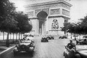 German troops in Paris after the fall of France.