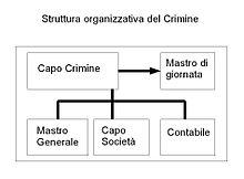 Struttura del Crimine