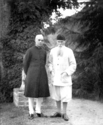 Roerichism - Jawaharlal Nehru and Nicholas Roerich