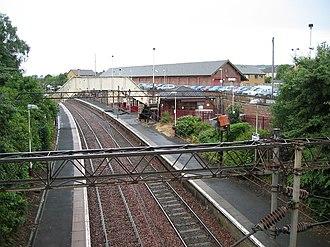 Neilston - Neilston railway station