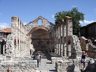 Hagia Sophia Church, Nesebar - Image: Nessebar Vieille Metropole