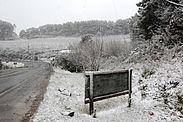 Snø i São Joaquim, Santa Catarina i 2010 og tropisk klima i Fernando de Noronha, Pernambuco.