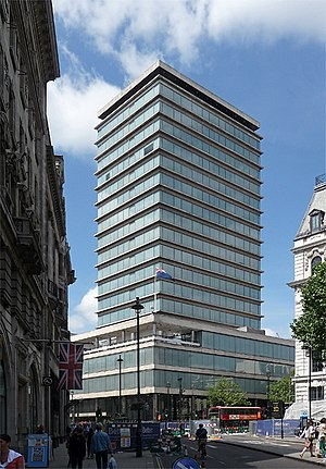 High Commission of New Zealand, London - Image: New Zealand House, Haymarket, London
