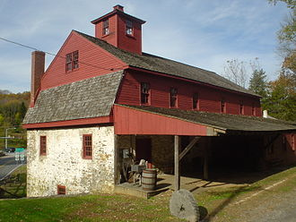 Delaware County, Pennsylvania - Newlin Mill, built 1704, on the west branch of Chester Creek, near Concordville.