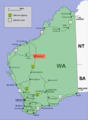Newman location map in Western Australia.PNG