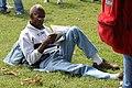 Newspaper-reading protester (2038449213).jpg