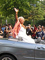 Nichelle Nichols in the Dragon Con 2007 parade.jpg