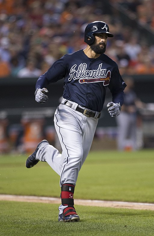 Nick Markakis on July 29, 2015