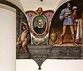 Nicodemo ferrucci o jacopo confortini, san bernardo degli uberti, tra putti con emblemi vallombrosani, 1634 circa, 01.jpg
