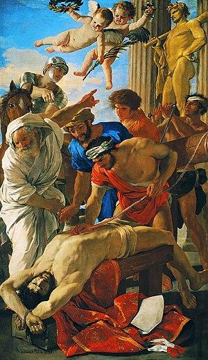 Erasmus of Formia - Martyrdom of St Erasmus, Poussin