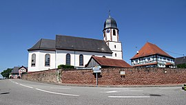 The church in Niederlauterbach