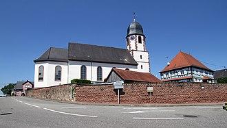 Niederlauterbach - Image: Niederlauterbach St Margarethe 12 gje