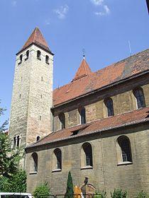 Niedermünsterkirche Regensburg von Süden.jpg
