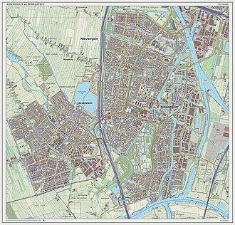 Nieuwegein - Image: Nieuwegein plaats Open Topo
