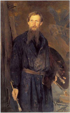 Портрет В.М.Васнецова.Н. Д. Кузнецов, 1891