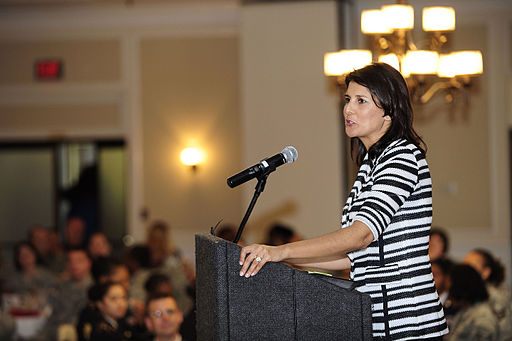 Nikki Haley at Shaw