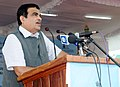 "Nitin Gadkari addressing at the launch of ""Dweep Connectivity - Reaching the Last Mile"" projects, in Andaman Islands.jpg"