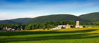 Walker Township, Centre County, Pennsylvania - Farms in the Nittany Valley