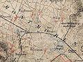 Noeud ferroviaire d Ermont-Eaubonne - Minute d Etat-Major vers 1870.jpg