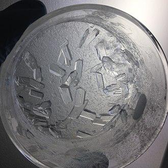 Nootkatone - Image: Nootkatone recrystallized
