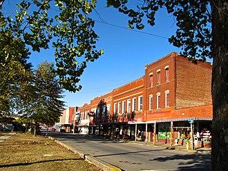 Jellico, Tennessee - North Main Street