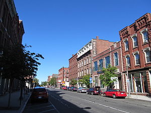 Holyoke, Massachusetts - North High Street