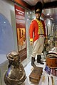 Norwegian military uniform 1808 Napoleonic Wars Battle of Trangen against Sweden Drum etc Rustkammeret Army and Resistance Museum Trondheim Norway 2019-03-20 9554.jpg