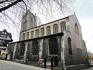 Saint John the Baptist, Maddermarket, Norwich Church in Norfolk, England