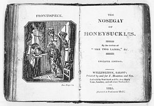 Lucy Lyttelton Cameron - The Nosegay of Honeysuckles, 1825 edition