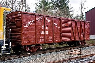 Northwest Railway Museum - Image: Npbox