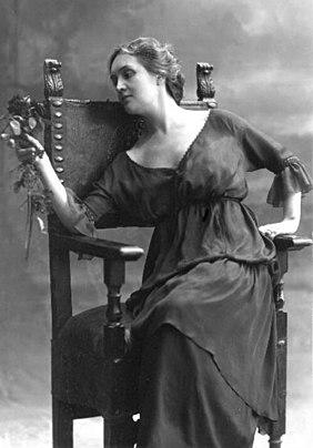 Nunes Vais, Mario (1856-1932), Sibilla Aleramo (1917)