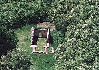 Nyíradony - Aerialphotography: Nyíradony - ruins