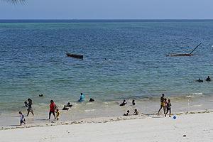 Nyali Beach from the Reef Hotel during high tide in Mombasa, Kenya 26.jpg