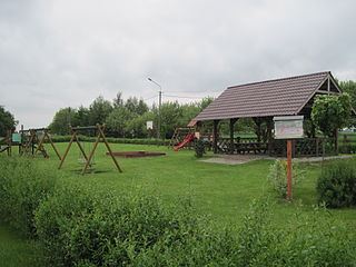 Ośno Drugie Village in Kuyavian-Pomeranian, Poland