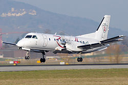 Saab 340 der Robin Hood Aviation
