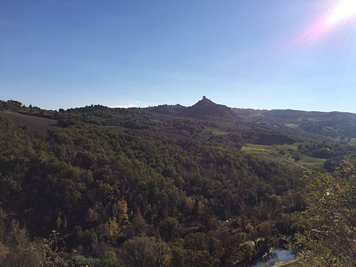 October in Val D'Orcia