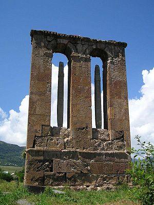 Odzun Church - Image: Odzun funerary monument