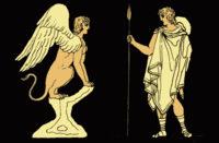 Oedipus And The Sphinx - Project Gutenberg eText 14994.png