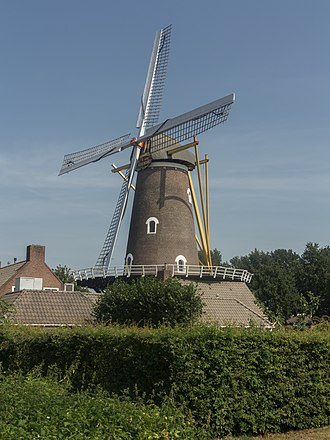 Oirschot - Image: Oirschot, windmolen de Korenaar RM31347 foto 7 2015 08 13 12.38