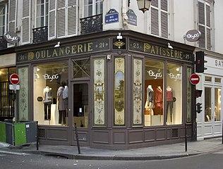 Cafe Enseigne Rue Esclapade